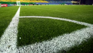 MONTREAL, CA - AUGUST 04: The artificial turf is seen in a general view of the Olympic stadium on August 4, 2014 in Montreal, Canada. (Photo by Martin Rose - FIFA/FIFA via Getty Images)